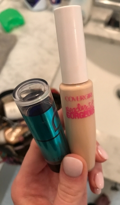 CoverGirl Smoothers Concealer Stick in Neutral (left), $5.99 at Walmart; CoverGirl Ready Set Gorgeous Concealer, $5.99 at Walmart
